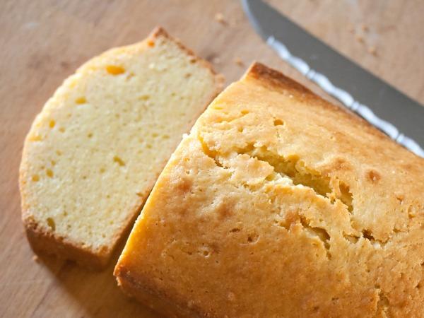 Lemon Cake cut