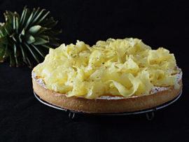 Tarte noix de coco ananas