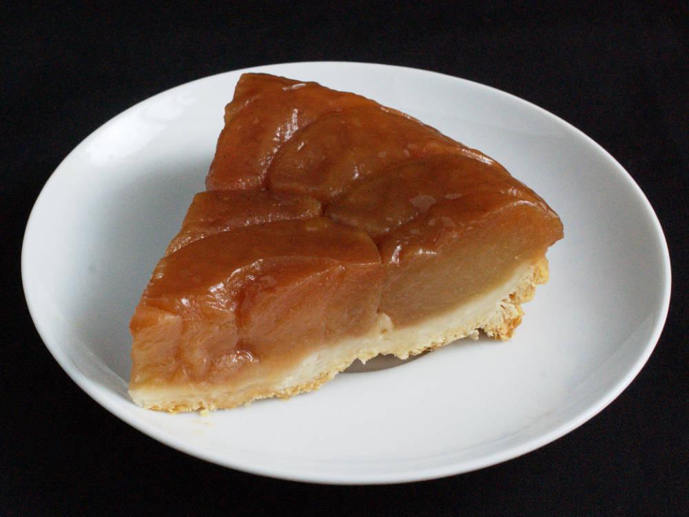 Tranche individuelle de tarte Tatin