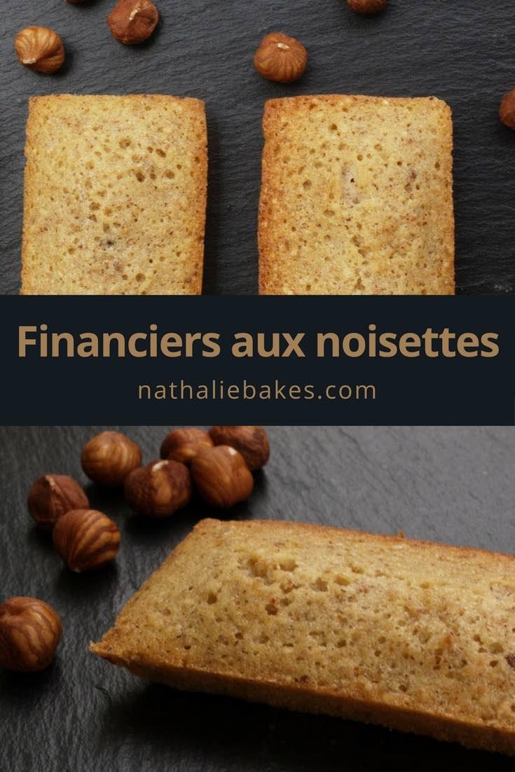 Découvrez les financiers aux noisettes moelleux et fondants de Philippe Conticini. Un vrai régal pour le goûter ou un café gourmand.#noisettes #goûter   nathaliebakes.com