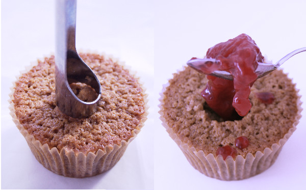 filling-cupcake-with-the-cooked-plums