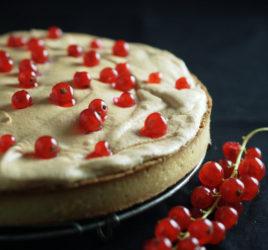 Recette de tarte aux groseilles meringuée
