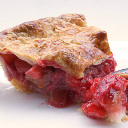 Strawberry Rhubarb Pie How To Avoid A Soggy Bottom Nathalie Bakes